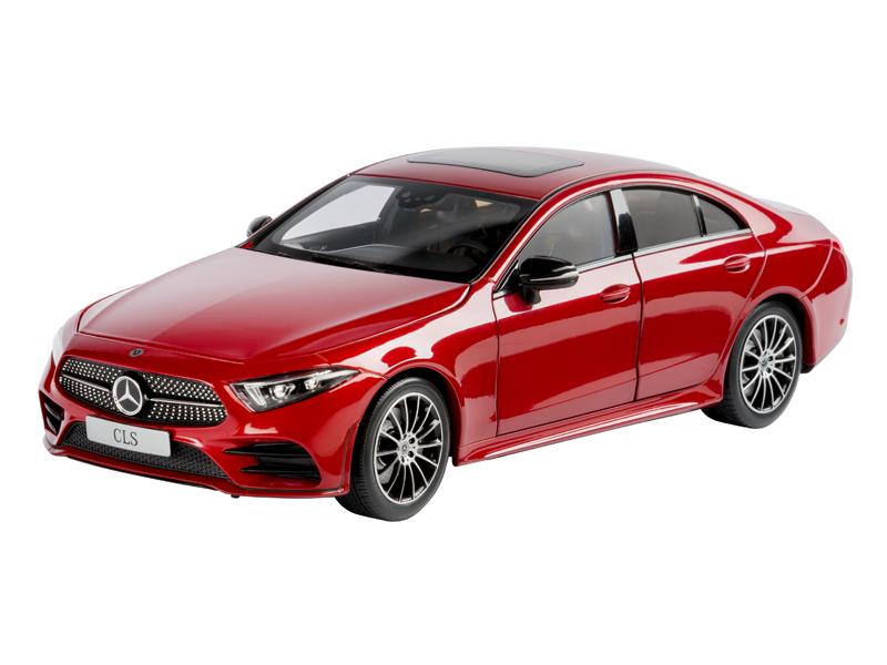 Mercedes - benz cls coupé amg c 257 linie 2018 hyazinthrot 1,18 neu ovp