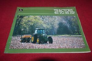 John Deere Lawn /& Garden Tractors For 1983 Dealer Brochure DCPA3