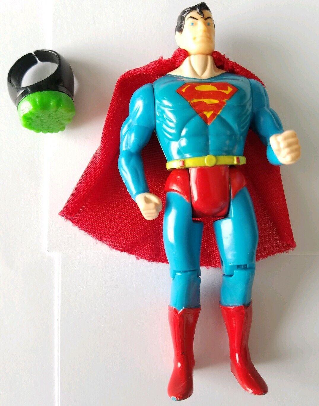 DC Comics Super  Heroes Superuomo w Kryptonite Ring (giocattoloBiz, 1989)  benvenuto a comprare