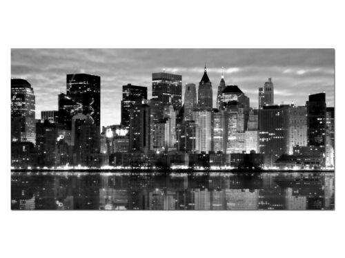 HD générons eg4100500883 new york skyline s//w 100 x 50 CM la fresque ville