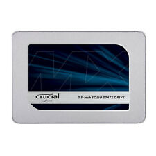 """Crucial MX500 1TB 3D NAND SATA III 2.5"""" Internal SSD CT1000MX500SSD1"""