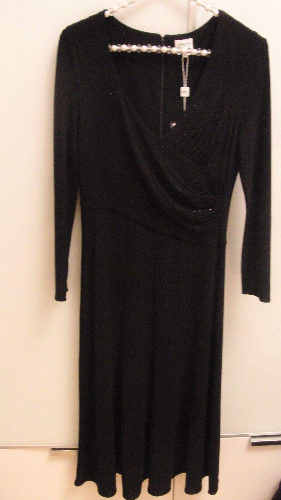 Armani Kleid, schwarz,  I 42