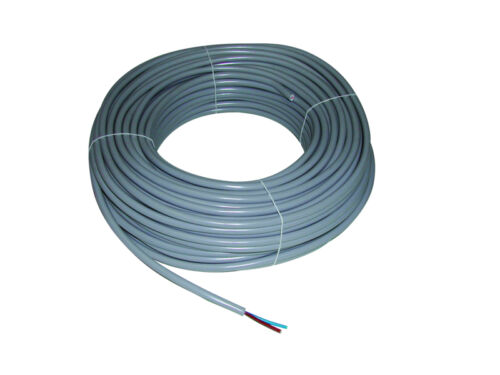 CABLE MULTICONDUCTOR FLEXIBLE GREY 2 X 2.5 MM2 SOLD PER METER