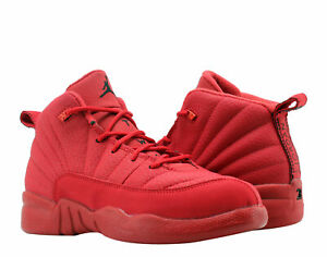 low priced ddf78 f0e64 Details about Nike Air Jordan 12 Retro Gym Red (PS) Little Kids Basketball  Shoes 151186-601