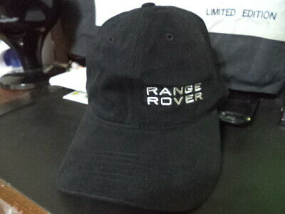 NEW Range Rover Baseball Cap Hat  EMBROIDERED Land Rover Red or Black