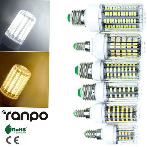 LED Corn Light Bulbs E27 E14 9W 12W 18W 25W 30W 5733 SMD Lamp 110V 220V RD190