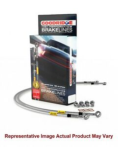 GOODRIDGE 24215 4PC G-Stop Brake Line Kit for 02-07 Subaru Impreza WRX//Outback