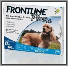 Merial Frontline PLUS Blue 3 Pack For Dogs 23 - 44 lb