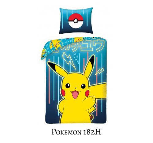 Anime Pokemon Pikachu Bettwäsche 100/% Baumwolle Cotton 135x200 140x200