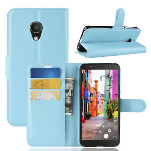 pretty nice cc159 c2796 For Alcatel 1C 5009D 5009A, Flip Leather Wallet Stand Magnetic Skin ...