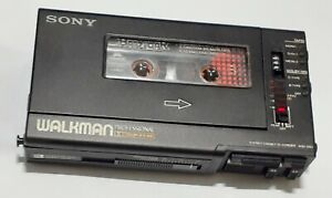 Sony-WM-D-6-C-VTG-Walkman-cassette-player-w-case-plays-fast-MINT