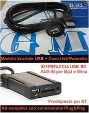 XCARLINK SD USB MP3 FIAT 500 BRAVO G.PUNTO PANDA ALFA MITO 147 159 LANCIA MUSA Y