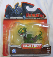 "HOW TO TRAIN YOUR DRAGONS Defenders of Berk BELCH & BARF Zippleback 3"" Figure"