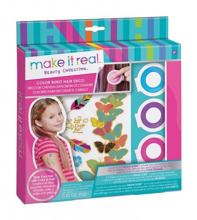 Make it Real - color Burst Hair Deco - Creative Craft Set