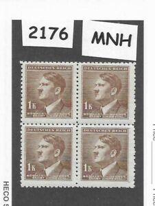 2176-MNH-block-Adolph-Hitler-1-00-Kr-1942-German-Occupation-Third-Reich