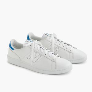 J. Crew para hombre New Balance 791 Cuero Tenis Zapatos Luz Azul E8592 Nuevo En Caja
