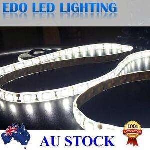 0-5-1-2-meter-5050-12V-DC-LED-strip-lights-Cool-white-SMD-60LEDS-waterproof