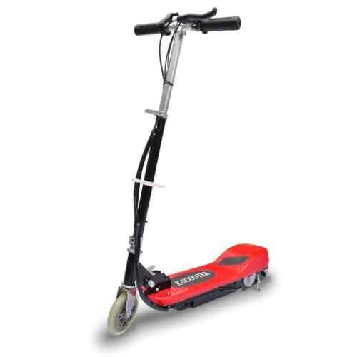 Elektroroller Elektro Scooter Kinderroller Roller klappbar 120 W Rot