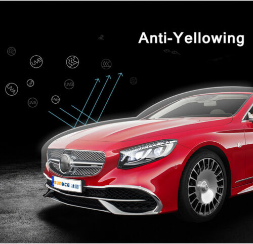 Paint Protection Film Vinyl Wrap with 3 Layers 100/% Transparent PPF for Car Auto