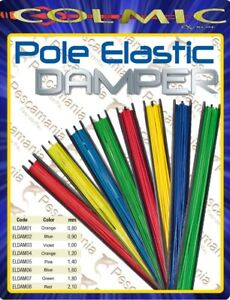 Elastico-pieno-in-lattice-Colmic-Color-Damper-mt-5-00-per-Roubaisienne