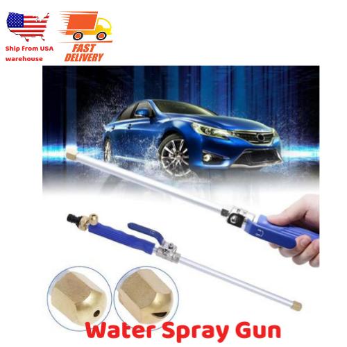 Hydro Jet High Pressure Power Washer Water Spray Gun Nozzle Wand Attachment USA