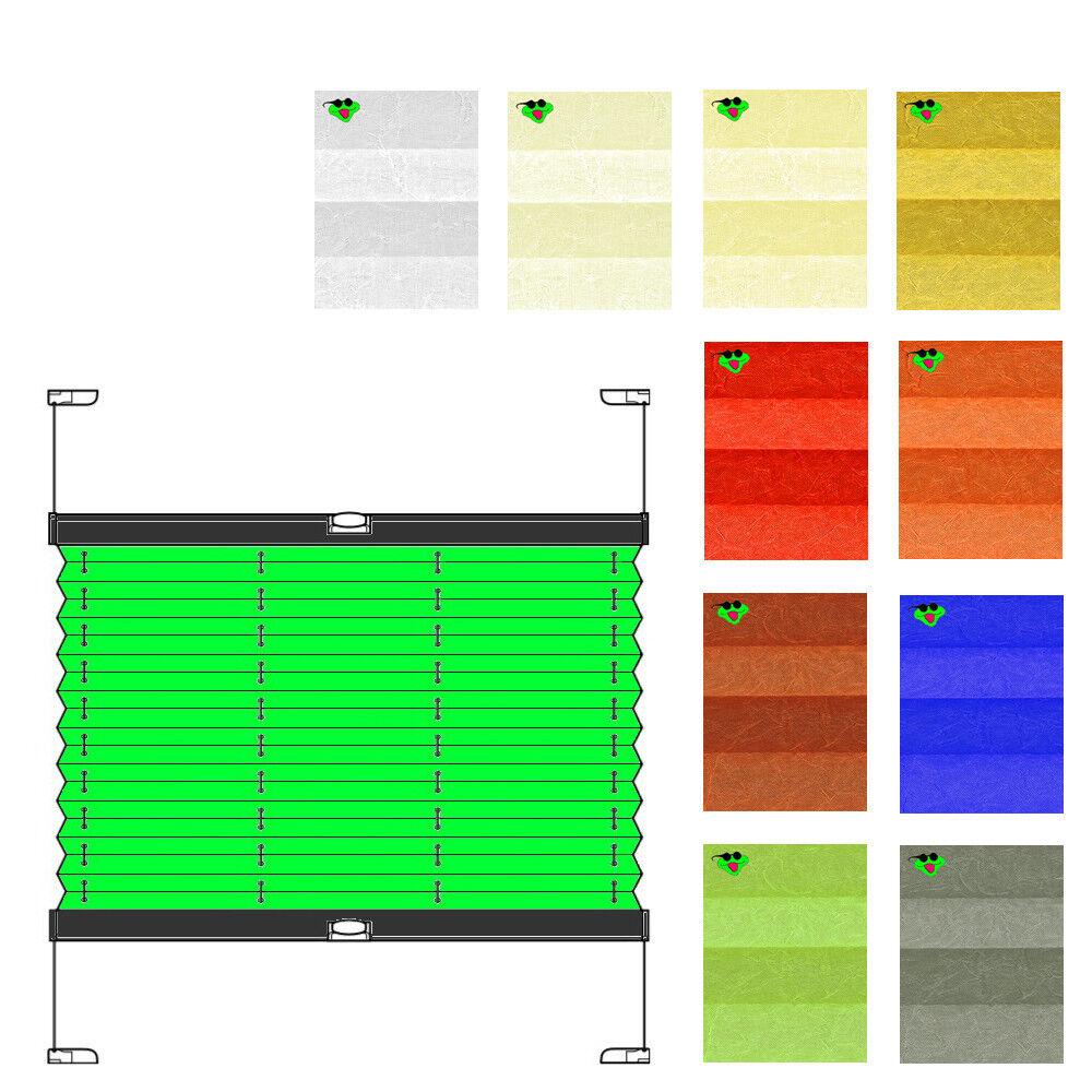 Plissees ohne Bohren nach nach nach Maß Sichtschutz Crush Crash transparent Knitterfalten | Üppiges Design  258fba