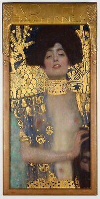 Judith II by Gustav Klimt Giclee Fine ArtPrint Reproduction on Canvas