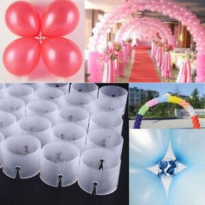 50pcs Clips DIY Decorative Wedding Balloon Clip Arches Balloons Connectors