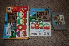 South Park (Nintendo 64 n64, 1998) Complete in Box GOOD A B