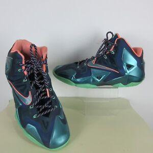 hot sale online c226d b04f2 Image is loading Nike-Men-039-s-Lebron-James-XI-Size-