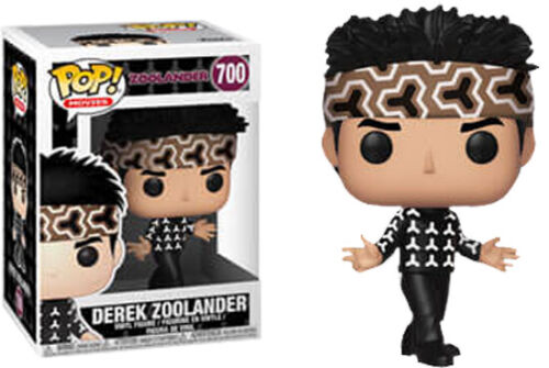 Zoolander Really Really Really Ridiculously Good Looking Pop Vinyl Bundle of 3