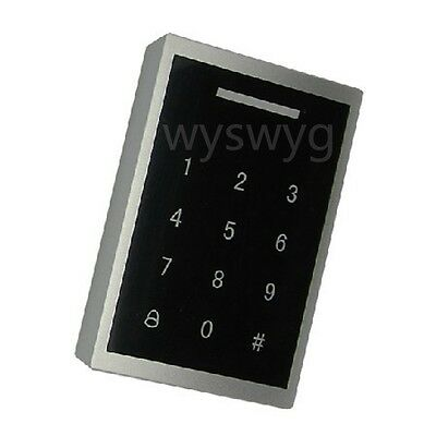 Waterproof Touch Sensor Keypad with 125KHz ID EM Reader Door Access Control