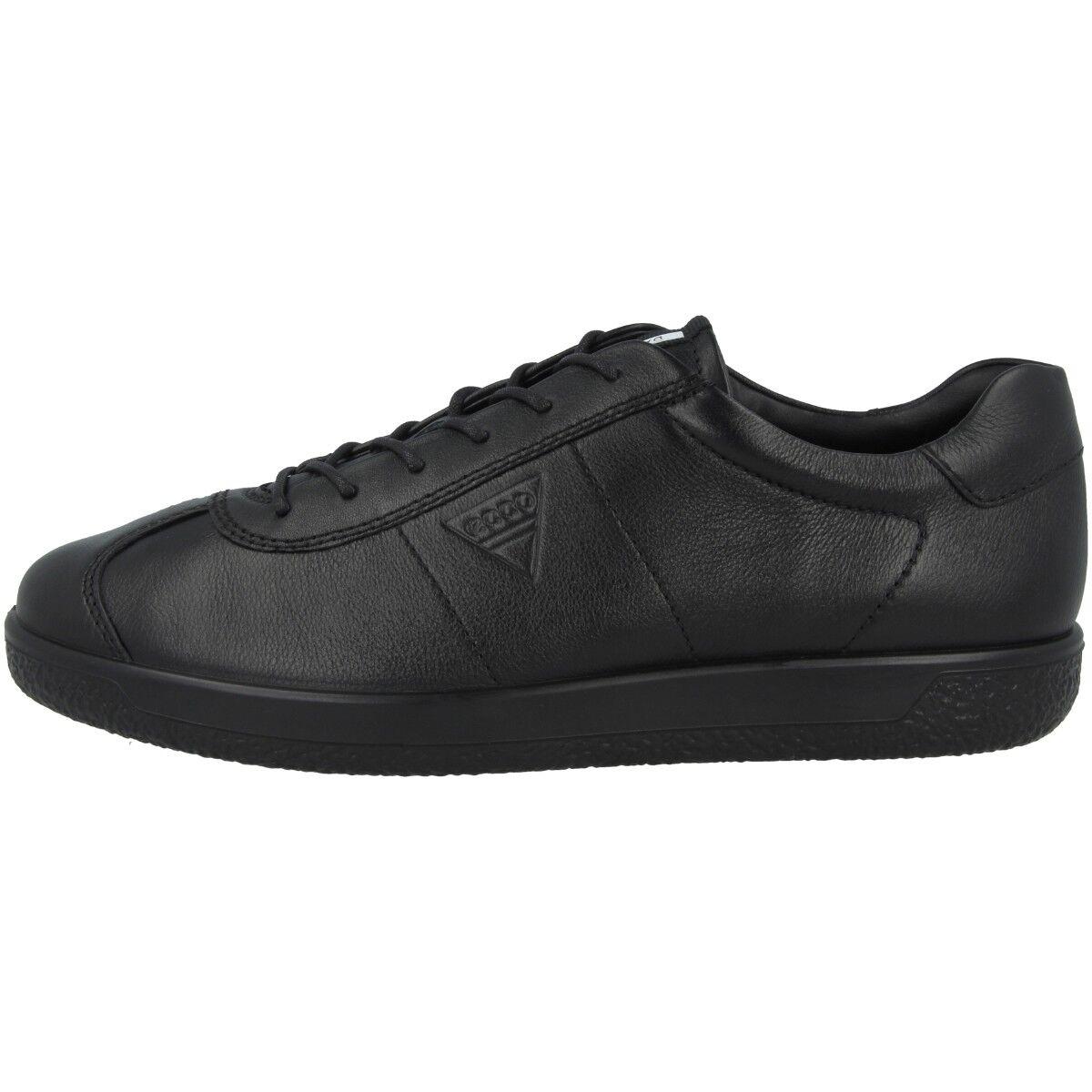 Ecco Soft 1 Men Schuhe Schuhe Schuhe Herren Sneaker Leder Halbschuhe black Biom 400514-01001 075b5e