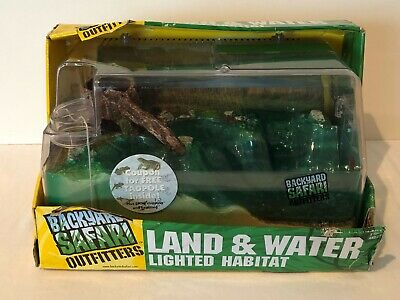 Backyard Safari Outfitters Land and Water Lighted Habitat ...