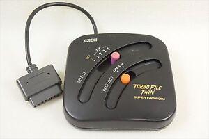ASCII-TURBO-FILE-TWIN-For-Super-Famicom-SFC-Import-JAPAN-Video-Game-2421