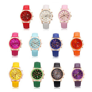 Fashion-Pop-Watches-Leather-Stainless-Men-Women-Steel-Analog-Quartz-Wrist-Watch