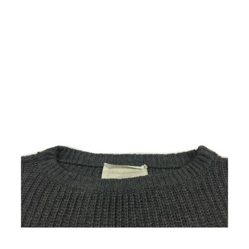 gris Femme laine en Fabriqué Bertani Chiara écru Pull cachemire en Noir Italie n0Rxa