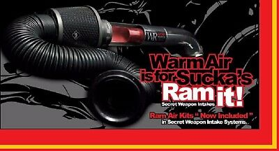 Secret Weapon-r Cold Air Intake  05-06 Pontiac Gto  FREE RAM KIT