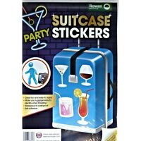 Party Suitcase Stickers