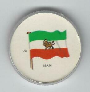 1963-General-Mills-Flags-of-the-World-Premium-Coins-70-Iran