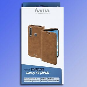 Hama-Etui-pour-Telephone-Portable-Garde-Samsung-Galaxy-A9-Braun-Pochette-Coque