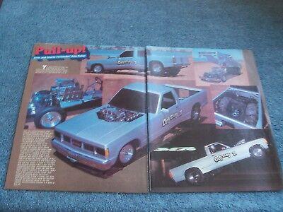 "1983 Gmc S-15 Lkw Abzieher Vintage Artikel "" Pull-up!"