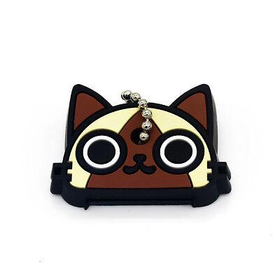 1pcs  Fashion Cat Design Pendant Key Chain Little Gift Alloy key Ring