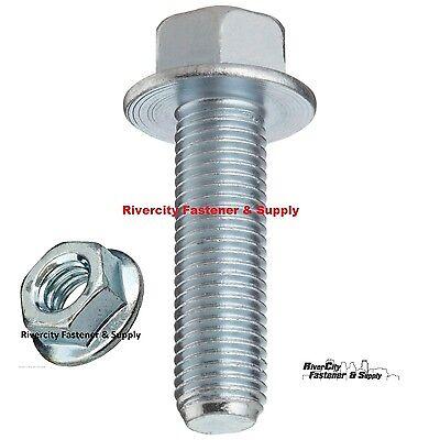 Small Head Hex Flange Bolt /& Nut M12-1.25 x 45 or M12x45 12mm x 45mm J.I.S 6