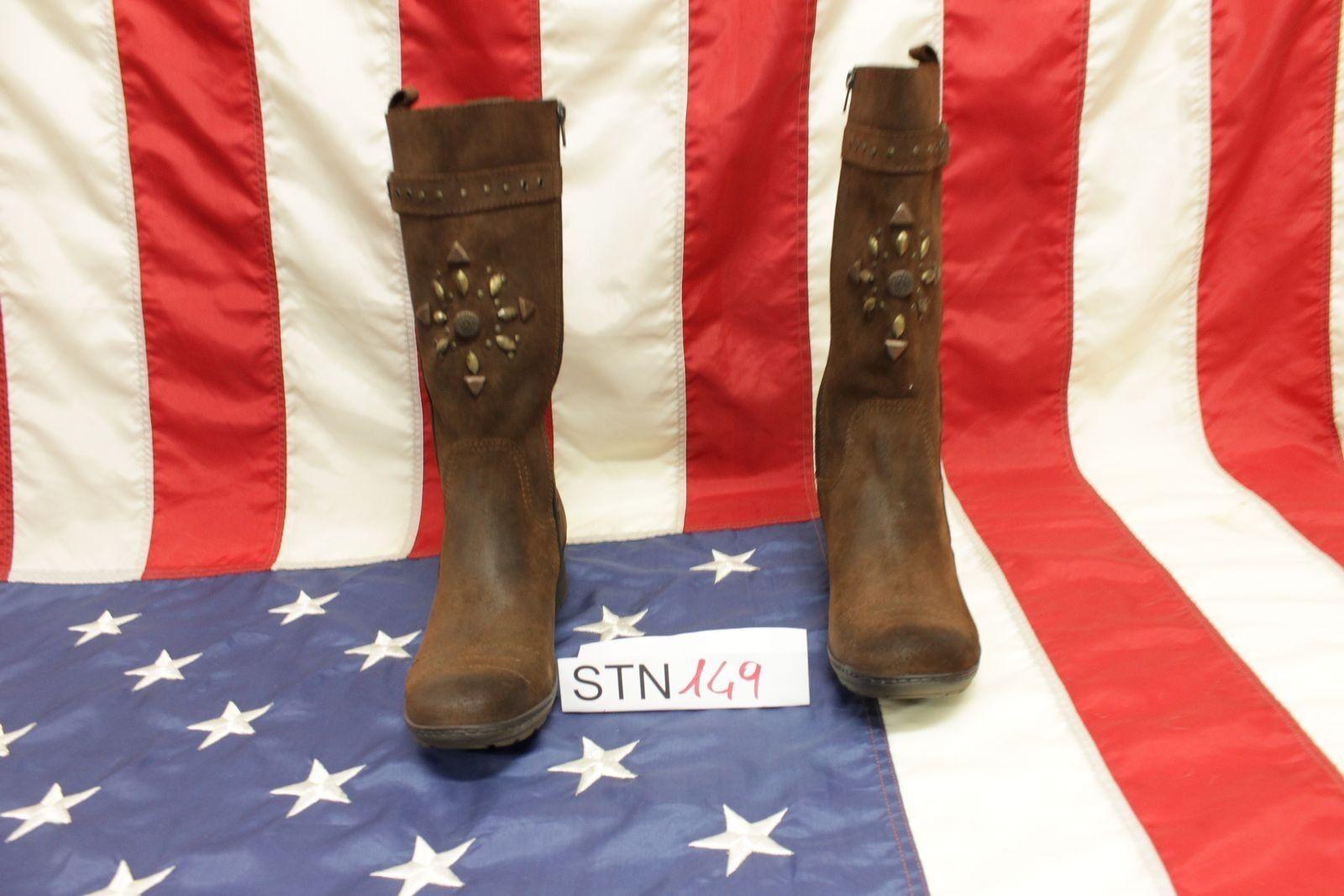 Boots Cafè black Boots N.40 (Cod.stn149) Camperos Cowboy Western Woman New