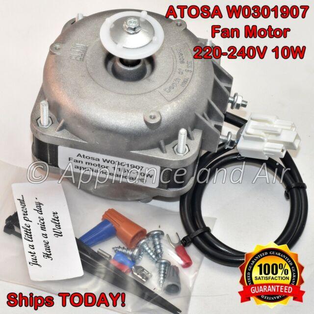 Atosa W0301907 Fan Condenser Motor