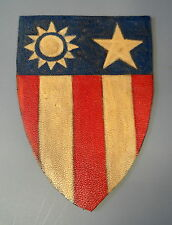 CHINA BURMA INDIA LEATHER SHOULDER PATCH