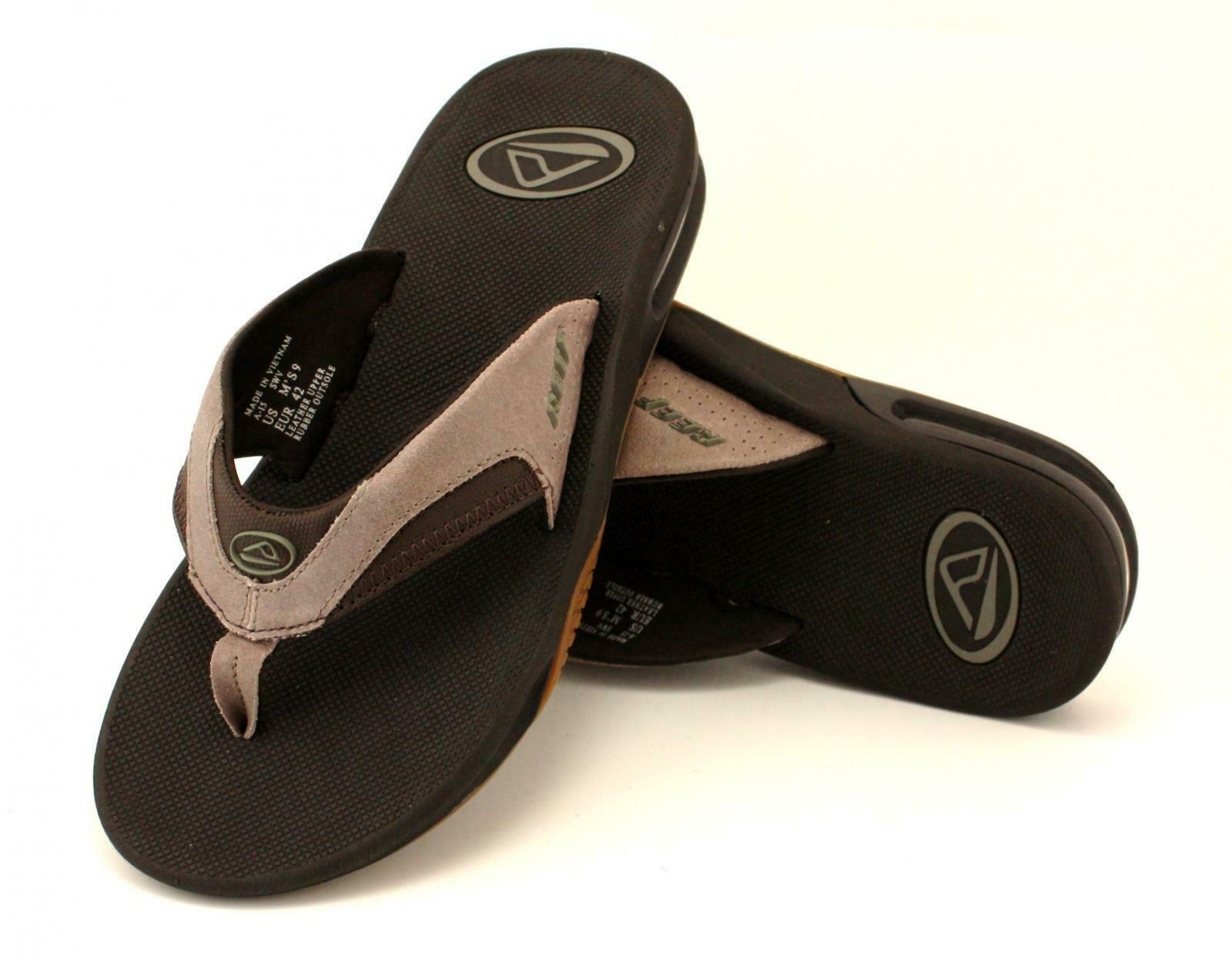 herren FLIP FLOPS FROM REEF. braun  TAN  FANNING TX  GrößeS UK 8-13
