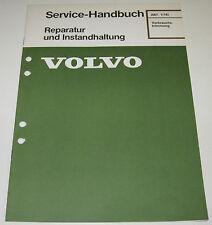 Werkstatthandbuch Volvo Verbrauchstrimmung Sprit Verbrauch Stand 09/1981!