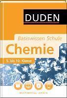 Duden. Basiswissen Schule. Chemie von Claudia Puhlfürst (2010, Gebunden)